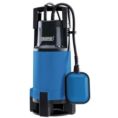 Draper 110V Submersible Dirty Water Pump with Float Switch (750W)
