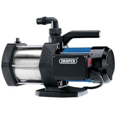 Draper Multi Stage Surface Mounted Water Pump (1100W)