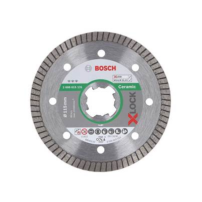 "Bosch ""X-LOCK Best Extraclean Turbo Diamond Disc, Ceramics"""