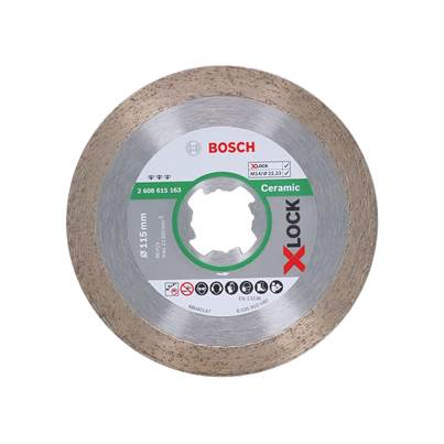 "Bosch ""X-LOCK Best Diamond Disc, Ceramics"""