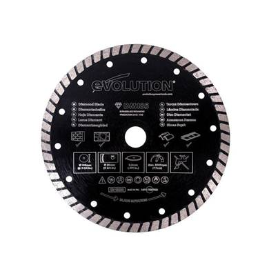 Evolution RAGE® Diamond Segmented Rim Blade