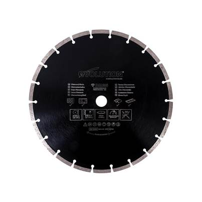 Evolution RAGE® Diamond Segmented Blade 305 x 22.2mm