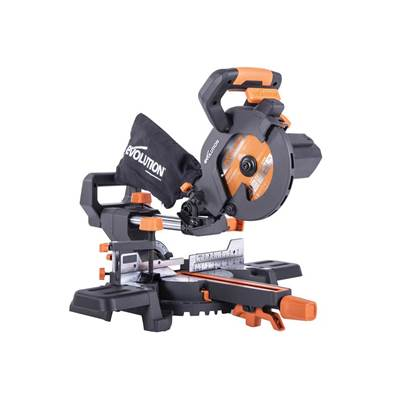 Evolution R185SMS+ 185mm Multi-Material Sliding Mitre Saw