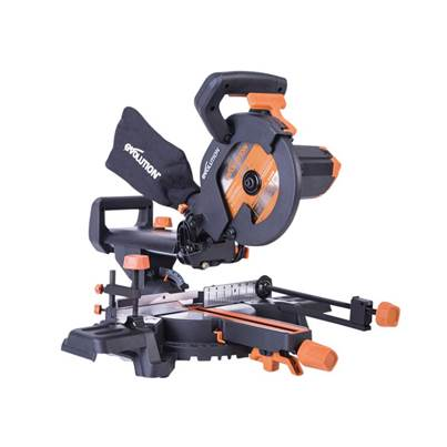 Evolution R210SMS+ Pro Sliding Mitre Saw 210mm
