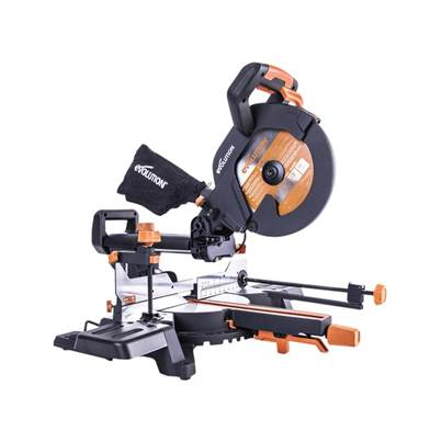 R255SMS+ Pro Multi-Material Sliding Mitre Saw 255mm