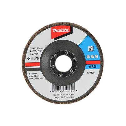 Makita D-27056 Flap Disc 115mm 80 Grit