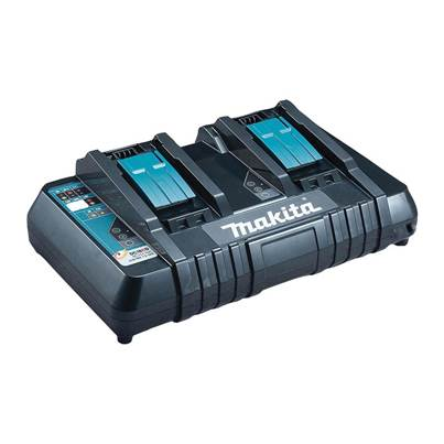 Makita DC18RD Twin Port Multi Voltage Charger 14.4-18V
