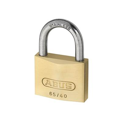 ABUS Mechanical 65 Series Marine Brass Padlock