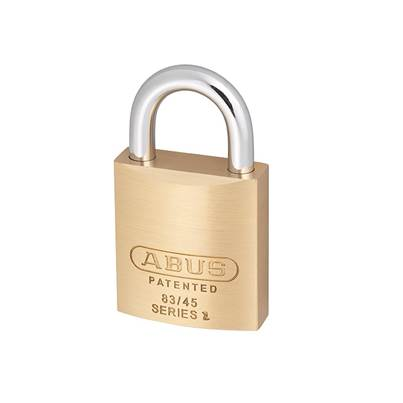 ABUS Mechanical 83 Series Brass Body Padlock