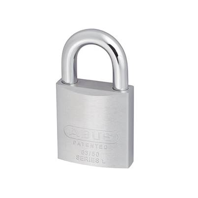 ABUS Mechanical 83 Series Chrome Plated Brass Padlock