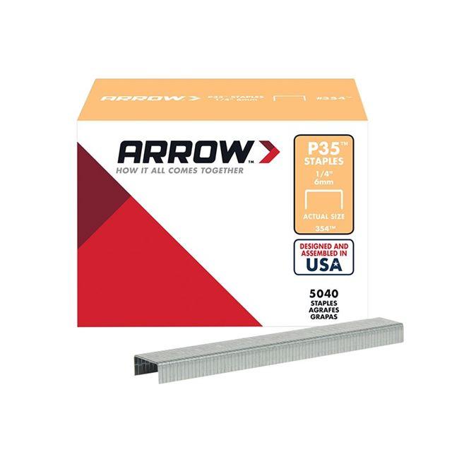 Arrow P35 Staples 6mm (1/4in) Box 5040