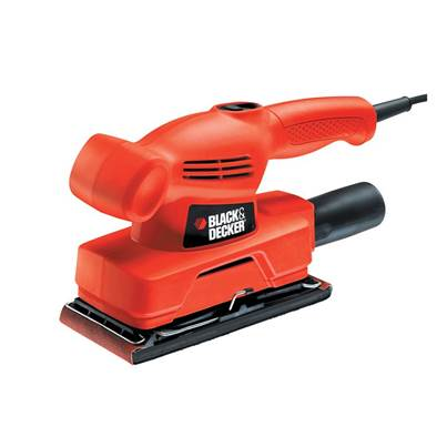 Black & Decker KA300 1/3 Sheet Orbital Sander 135W 240V