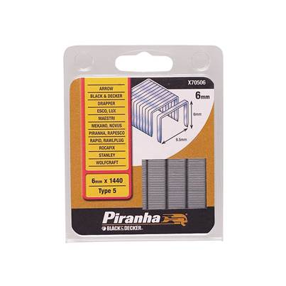 Black & Decker Flat Wire Staples Type 5