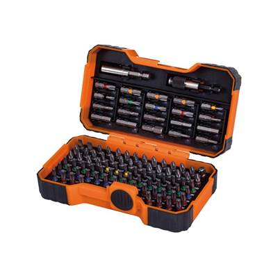 Bahco 59/S100BC Colour Coded Bit Set, 100 Piece