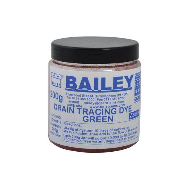 Bailey 3589 Drain Tracing Dye - Green