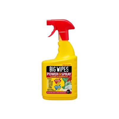 Big Wipes 4 x 4 Power Spray 1 litre