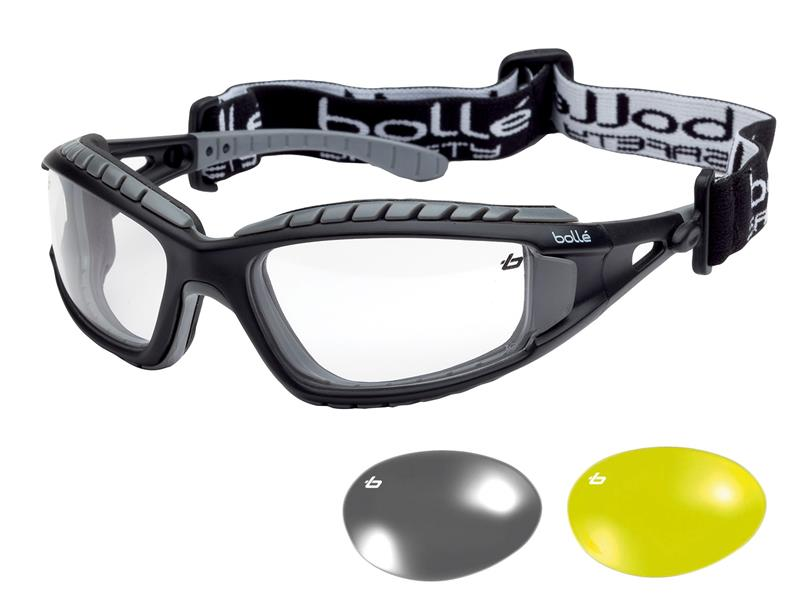 Bolle Safety TRACKER PLATINUM® Safety Goggles, Vented