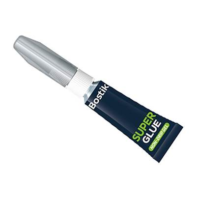 Bostik Superglue Non-Drip Gel Tube 3g