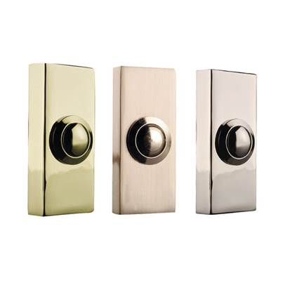 Byron 2204 Series Wired Doorbell Additional Chime Bell Push