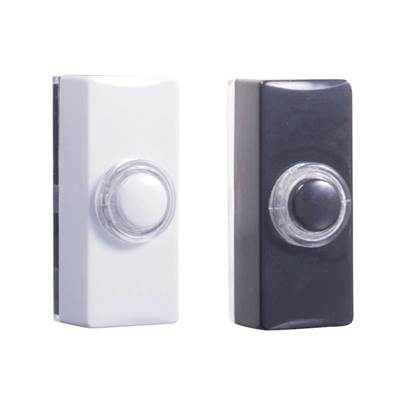 Byron 77 Series Wired Doorbell Additional Illuminated Chime Bell Push