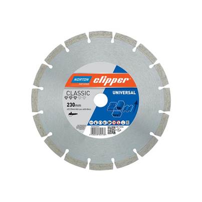 Norton Clipper Classic Universal Blue Diamond Blade
