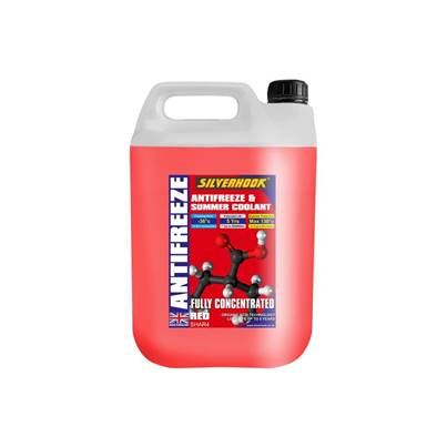 Silverhook Concentrated Red Coolant & Antifreeze