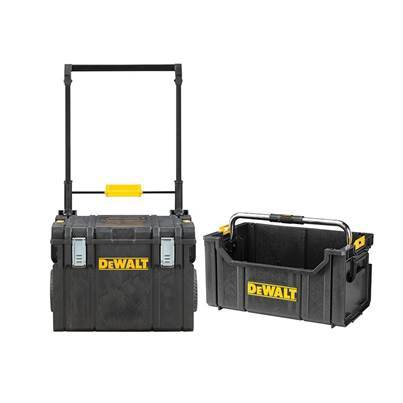 DeWALT DWST81683 TOUGHSYSTEM™ Wheeled Toolbox & TOUGHSYSTEM™ Tote