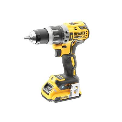 DEWALT DCD797D2B XR Brushless Hammer Drill Driver Tool Connect 18V 1 x 2.0Ah Li-ion