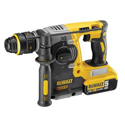 DEWALT DCH274P2 Brushless XR 3 Mode Quick Chuck Hammer 18V 2 x 5.0Ah Li-ion
