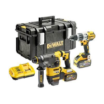 DEWALT DCK2033X2 FlexVolt XR Twin Pack 18/54V 2 x 9.0/3.0Ah Li-ion