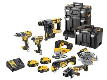 DeWALT DCK755P3T XR Brushless 7 Piece Kit 18V 3 x 5.0Ah Li-ion