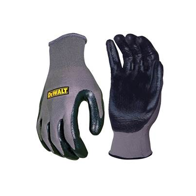 DeWALT DPG66 Nitrile Nylon Gloves - Large