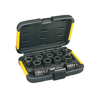DEWALT DT7506 Impact Socket Set, 17 Piece