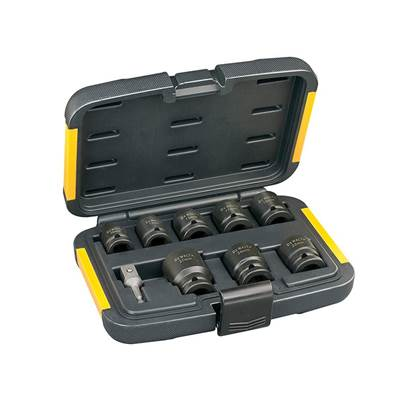 DEWALT DT7507 Impact Socket Set of 9 Metric 1/2in Drive