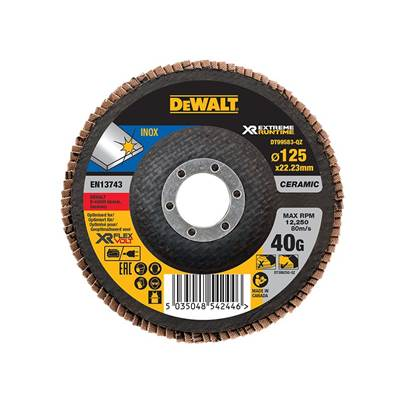 DeWALT FlexVolt XR Flap Disc 125mm