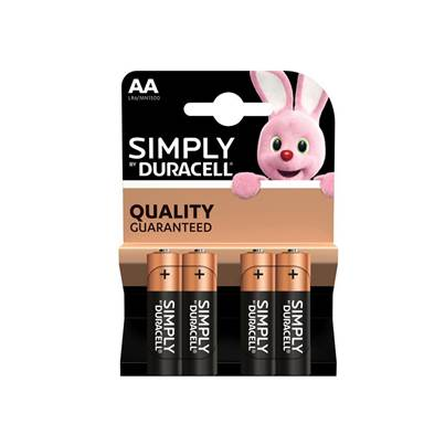 Duracell Simply Alkaline Batteries