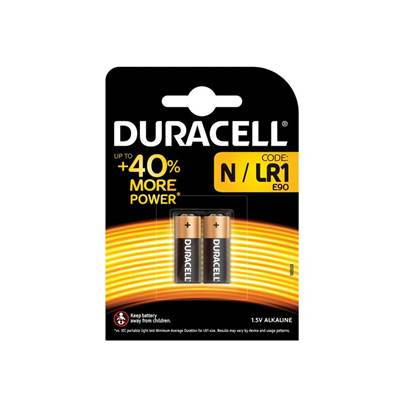 Duracell LR1 Electronic Battery (Pack 2)