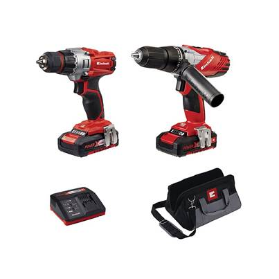 Einhell Power X-Change Combi & Drill Driver Twin Pack 18V 2 x 1.5Ah Li-ion