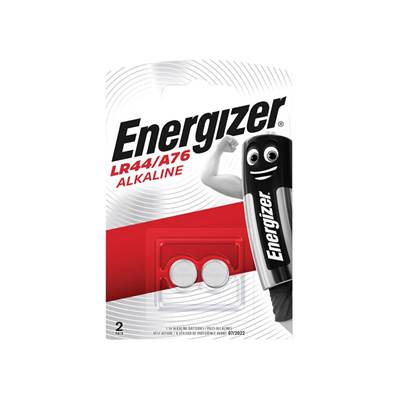 Energizer® LR44 Button Cell Alkaline Battery (Pack 2)