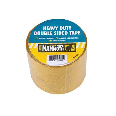 Heavy-Duty Double-Sided Tape 50mm x 5m