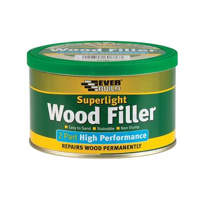 Everbuild Superlight 2-Part High-Performance Wood Filler 370g