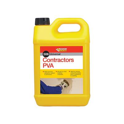 Everbuild Contractor's PVA 5 litre