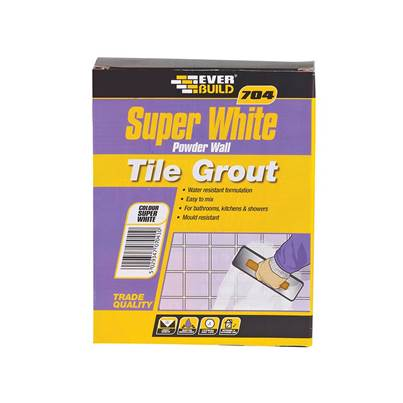 Everbuild 704 Super White Wall Tile Grout
