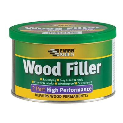 Everbuild Wood Filler, 2-Part High-Performance