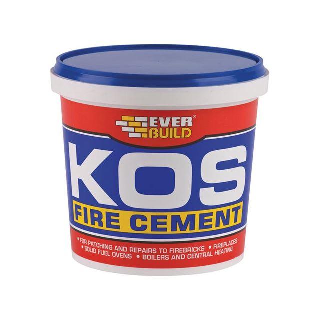 Everbuild KOS Fire Cement Buff 500g