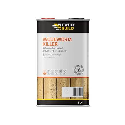 Everbuild Woodworm Killer 5 litre