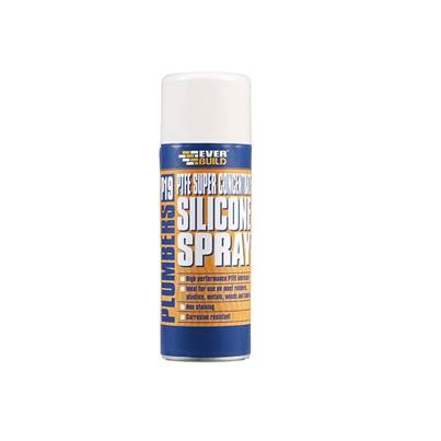 Everbuild P19 Plumber's P.T.F.E Silicone Spray 200ml