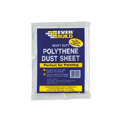 Everbuild Polythene Dust Sheet 3.6 x 2.7m
