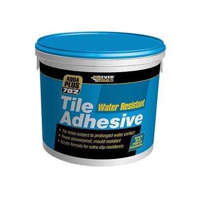 Everbuild 702 Water Resistant Tile Adhesive