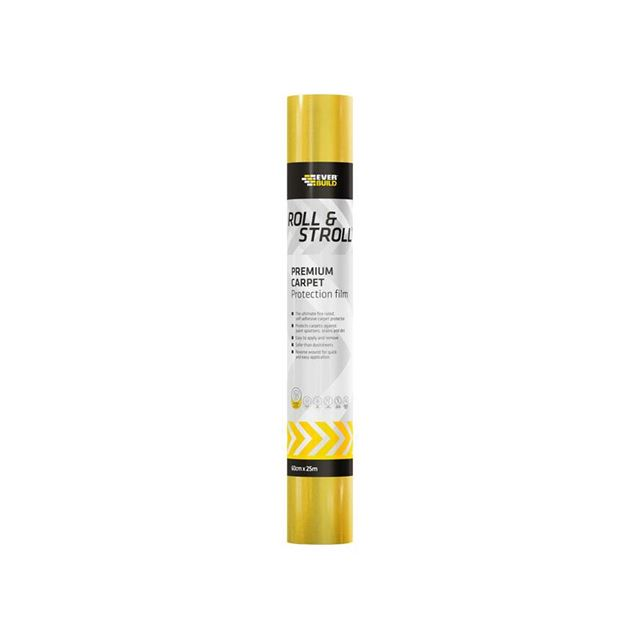 Everbuild Roll & Stroll Premium Carpet Protector 600mm x 75m